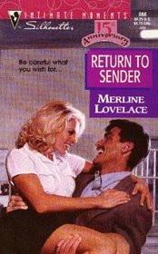 Return To Sender (Intimate Moments, No 866)