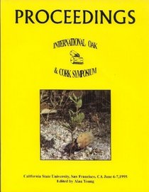 Proceedings of the International Oak and Cork Symposium