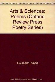Arts & Sciences: Poems (Ontario Review Press Poetry Series)
