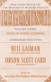 Legends II, Vol 3: New Short Novels by the Masters of Modern Fantasy (Audio Cassette) (Unabridged)