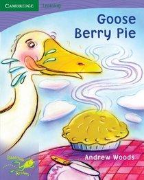 Pobblebonk Reading 6.6 Goose Berry Pie