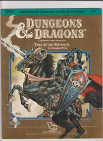 Test of the Warlords (Dungeons  Dragons Module CM1)