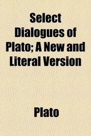 Select Dialogues of Plato