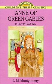 Anne of Green Gables (Dover Children's Thrift Classics)