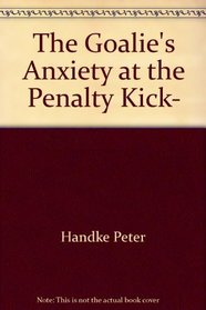 The goalie's anxiety at the penalty kick,