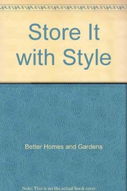 Store It with Style