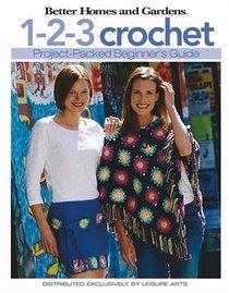 1-2-3 Crochet: Beginner's Guide (Leisure Arts #4333)