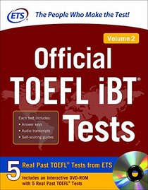 Official TOEFL iBT� Tests Volume 2
