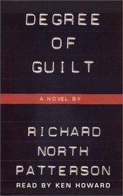 Degree of Guilt  (Audio Cassette)