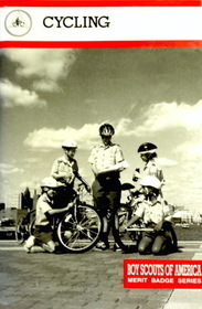 CYCLING - Boy Scouts Of America - Merit Badge Series