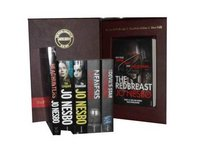Jo Nesbo Collection Pack a Harry Hole Mystery Set: Redbreast, Nemesis, the Devils Star, the Redeemer, the Snowman, the Leopard, Headhunters