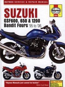 Suzuki: GSF600, 650 & 1200 Bandit Fours '95 to '06 (Haynes Service & Repair Manual)