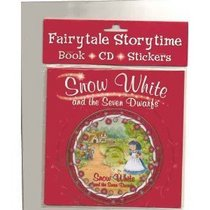 Fairytale Storytime Book, Cd and Stickers: Snow White and the Seven Dwarfs