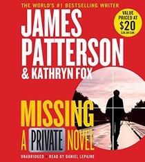 Missing (Private, Bk 12) (Audio CD) (Unabridged)