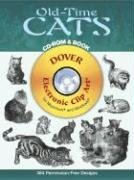Old-Time Cats CD-ROM and Book (Dover Electronic Clip Art)