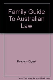 Family guide to Australian law