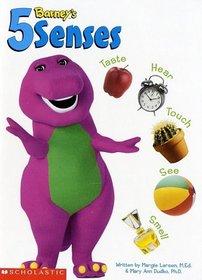 Barney's 5 Senses: Taste, Smell, Touch, See, Hear