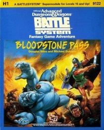 Bloodstone Pass (Advanced Dungeons & Dragons Battlesystem module H1)