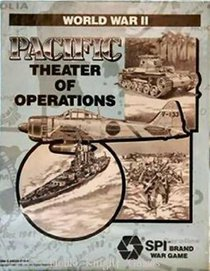 World War II: Pacific Theater of Operations (Spi Brand War Game)