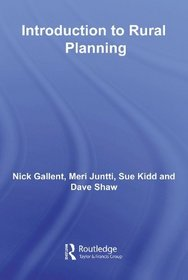 Introduction to Rural Planning (Natural and Built Environment Series)
