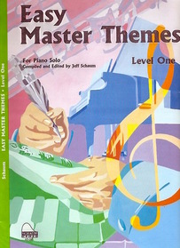 Easy Master Themes:  Level One Piano
