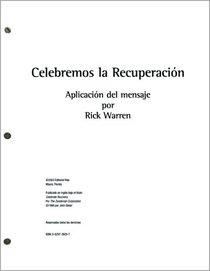 Sermon Transcripts (Celebrate Recovery)