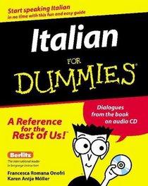 Italian for Dummies (With CD-ROM)