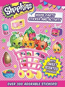 Shopkins House Party Sticker and Activity (5)