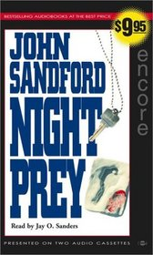 Night Prey (Lucas Davenport, Bk 6) (Audio Cassette) (Abridged)