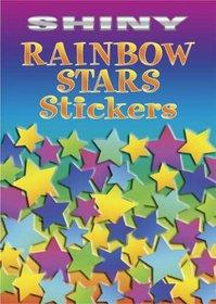 Shiny Rainbow Stars Stickers