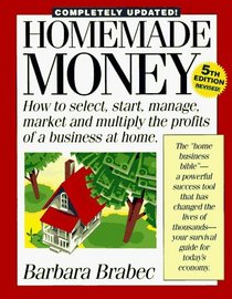 Homemade Money: How to Select, Start, Manage, Market and Multiply the Profits of a Business at Home (Homemade Money)