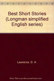 The Best Short Stories of D.H. Lawrence (Longman Simplified English)