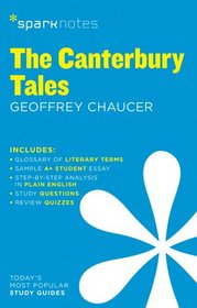 The Canterbury Tales SparkNotes Literature Guide (SparkNotes Literature Guide Series)