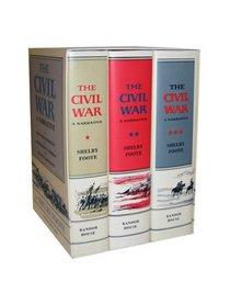 The Civil War: A Narrative (3 Volume Set)