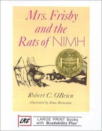 Mrs. Frisby and the Rats of Nimh (Large Print)