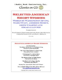 Selected American Short Stories (Classic Books on CD Collection) [UNABRIDGED] (Classic Books on Cds Collection)
