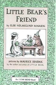 Little Bear's Friend (I Can Read Book 1)