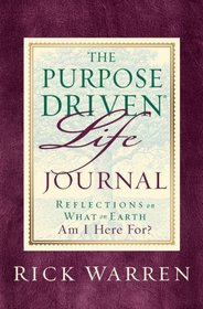 The Purpose-Driven Life Journal