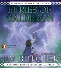 Furies of Calderon (Codex Alera, Bk 1) (Unabridged Audio CD)