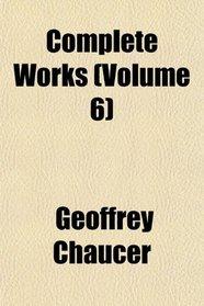 Complete Works (Volume 6)