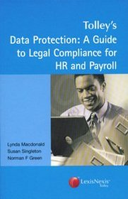 Data Protection: A Guide to Legal Compliance for HR and Payroll