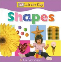 DK Lift the Flap Shapes Board Book