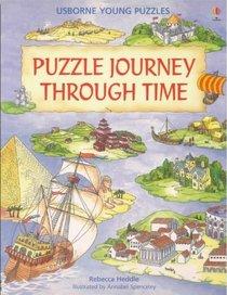 Puzzle Journey Through Time (Usborne Young Puzzles)