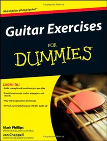 Guitar Exercises For Dummies� (For Dummies (Sports & Hobbies))
