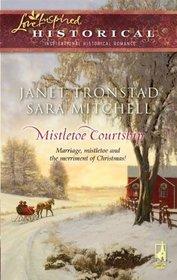 Mistletoe Courtship: Christmas Bells for Dry Creek / The Christmas Secret (Love Inspired Historical, No 46)