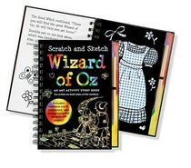 Scratch and Sketch Wizard of Oz: An Art Activity Story Book for Artists on Both Sides of the Rainbow (Activity Book Series)