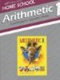A Beka Arithmetic 1 Curriculum Teacher Guide