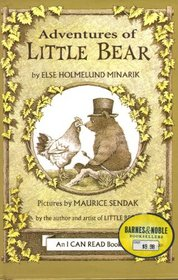 Adventures of Little Bear:  Little Bear / Father Bear Comes Home / A Kiss For Little Bear
