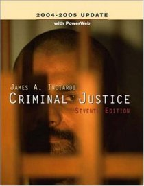 Criminal Justice, 2004-2005 UPDATE, with PowerWeb