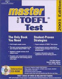 Master the Toefl Test 2001 (Arco Master the TOEFL (W/CD))